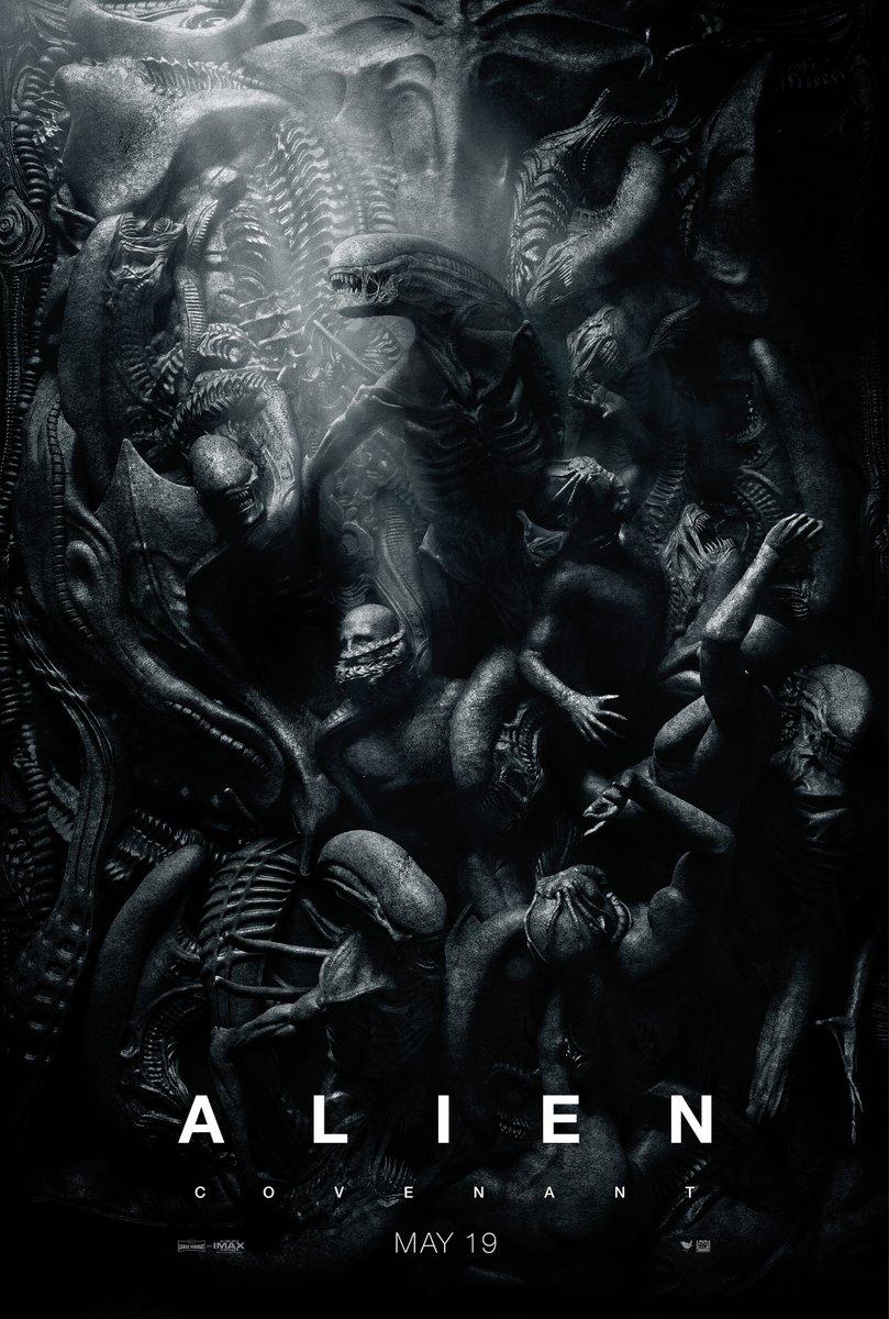 Alien: Covenant, un poster del film