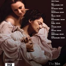 Locandina di The Metropolitan Opera di New York: Eugene Onegin