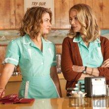 Twin Peaks: Mädchen Amick e Peggy Lipton in una foto della serie