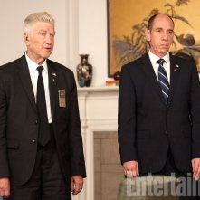 Twin Peaks: una foto di David Lynch e Miguel Ferrer