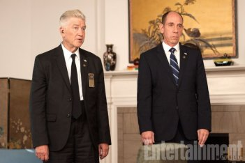 Twin Peaks: una foto di David Lynch e Miguel Ferrer