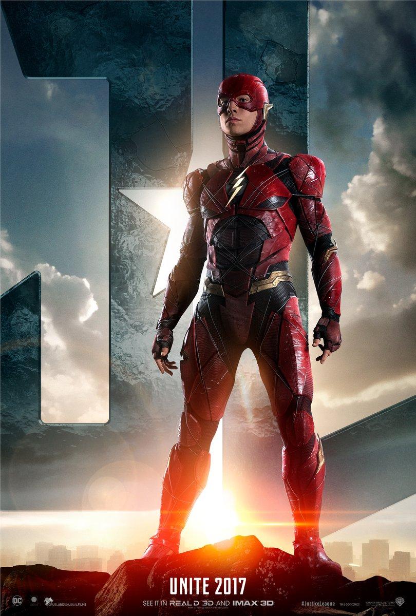 Justice League: il poster di The Flash