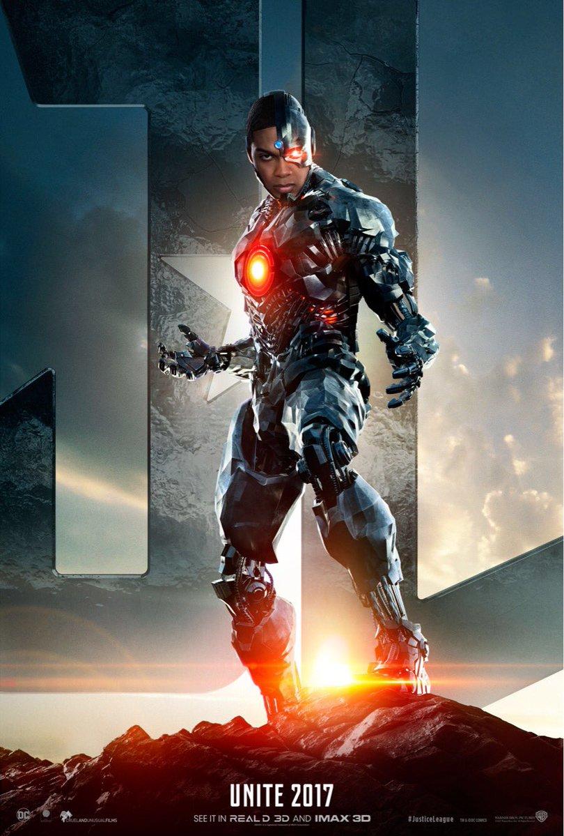 Justice League: il teaser poster di Cyborg