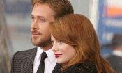 Emma Stone e Ryan Gosling, su Italia 1 una serata dedicata alla coppia d'oro di Hollywood