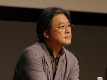 Park Chan-Wook durante la masterclass del Florence Korea Film Fest