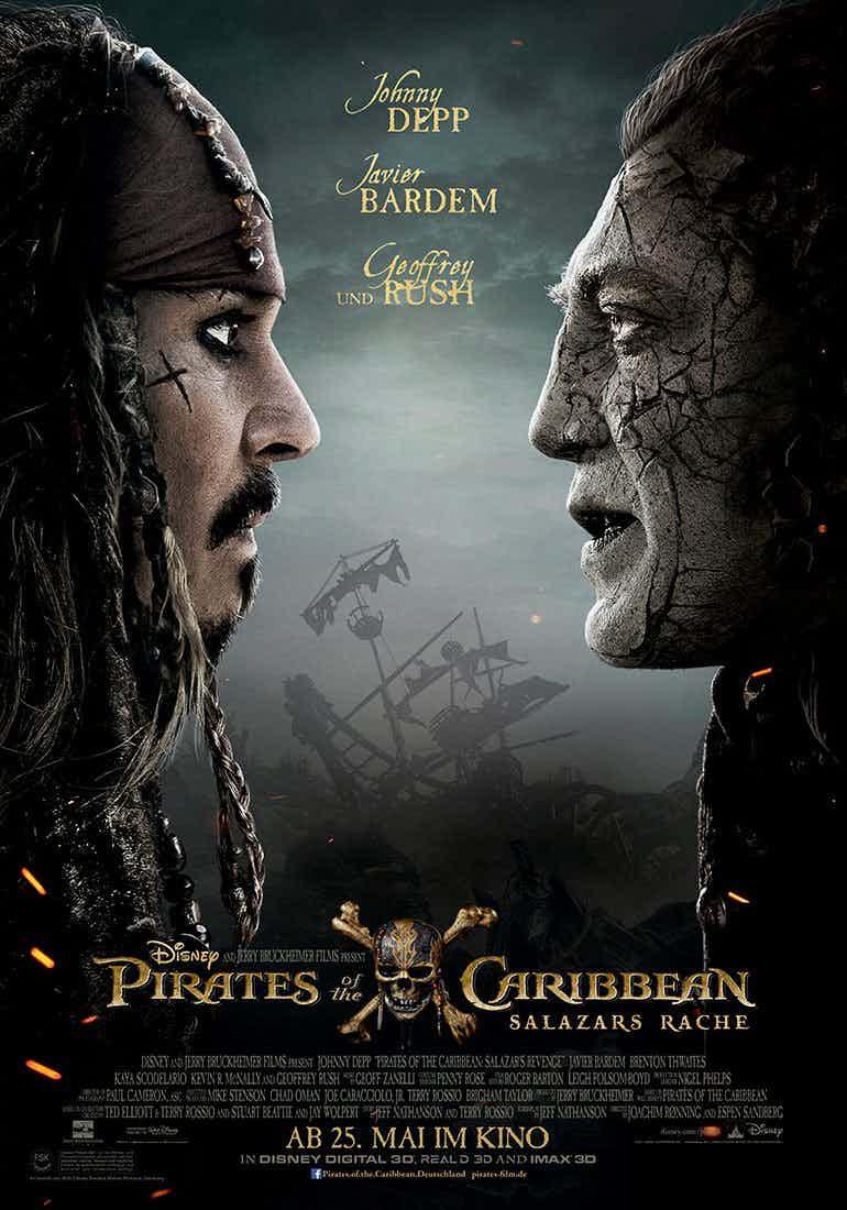 Pirati dei Caraibi - La vendetta di Salazar: poster del film