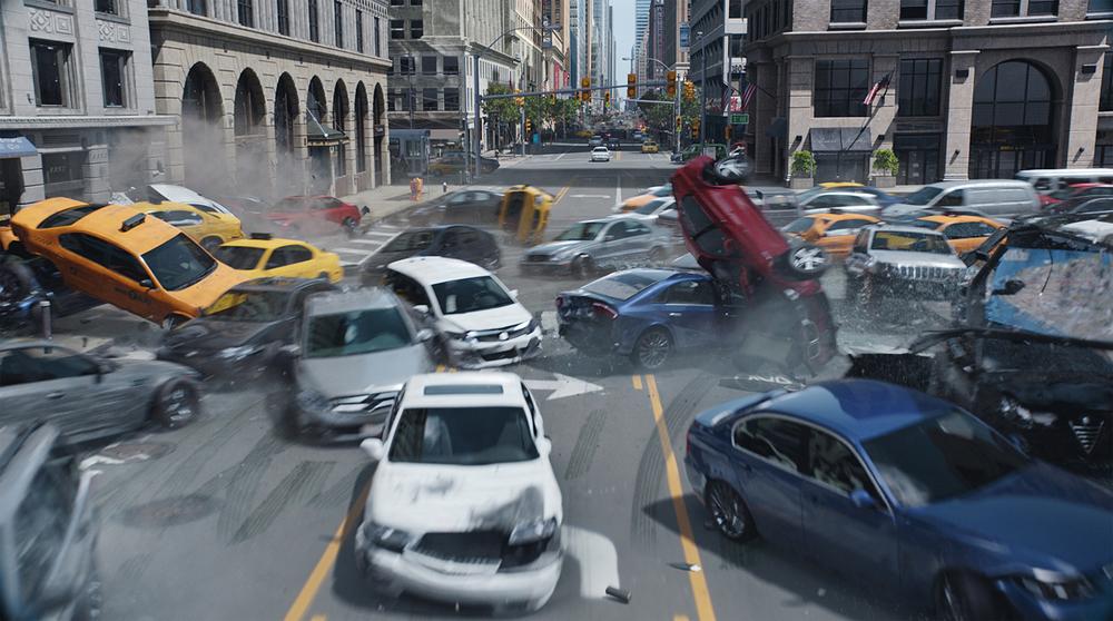 Fast & Furious 8: una concitata scena d'azione tratta dal film