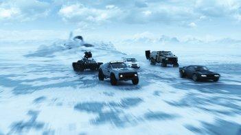Fast & Furious 8: una scena d'azione del film