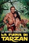Locandina di La furia di Tarzan