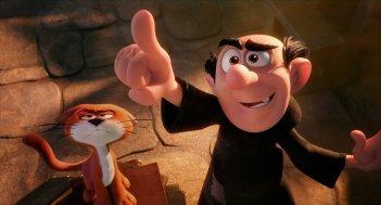 I Puffi - Viaggio nella foresta segreta: Gargamella in un'immagine del film d'animazione
