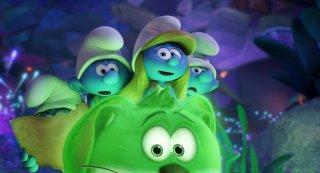 I Puffi - Viaggio nella foresta segreta: una scena del film animato