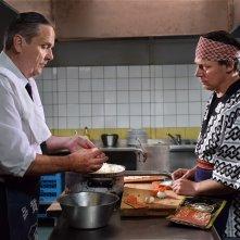 L'altro volto della speranza: Sakari Kuosmanen in una scena del film