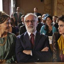 Lasciati andare: Valentina Carnelutti, Toni Servillo e Veronica Echegui in una scena del film