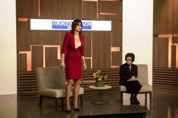 Moglie e marito: Kasia Smutniak in un momento del film