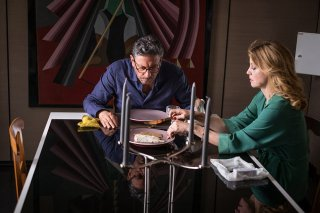 Piccoli crimini coniugali: Margherita Buy e Sergio Castellitto in un'immagine del film
