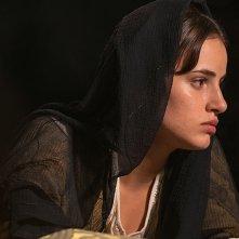 Raffaello - Il principe delle arti: Angela Curri in un momento del docufilm di Sky