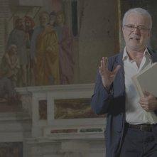 Raffaello - Il principe delle arti: l'esperto d'arte Antonio Natali in un momento del docufilm targato Sky