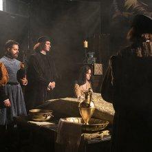 Raffaello - Il principe delle arti: Marco Cocci e Angela Curri in una scena del docufilm