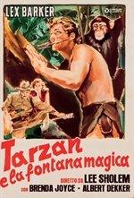 Locandina di Tarzan e la fontana magica