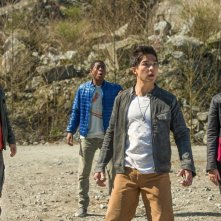 Power Rangers: una foto del cast