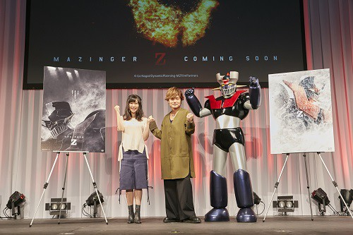 Mazinga Z: i doppiatori Showtaro Morikubo e Ai Kayano presentano il teaser