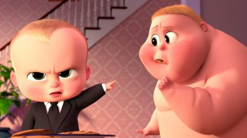 Baby Boss: un momento del film animato