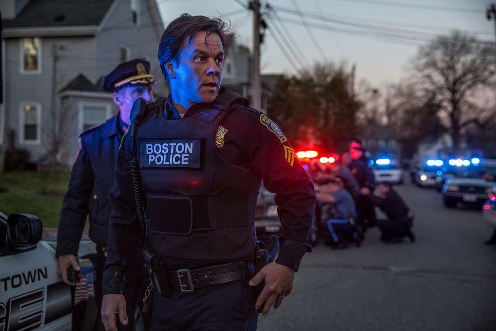 Boston - Caccia all'uomo: Mark Wahlberg in una scena del film
