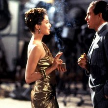 Bugsy: Warren Beatty e Annette Bening in una scena del film