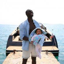 Famiglia all'improvviso - Istruzioni non incluse: Omar Sy in una scena del film