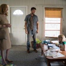 Gifted - Il dono del talento: Lindsay Duncan, Mckenna Grace e Chris Evans in una scena del film