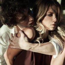Lasciami per sempre: Andrea Bellisario e Myriam Catania in una scena del film