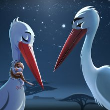 Richard the Stork: una scena del film d'animazione