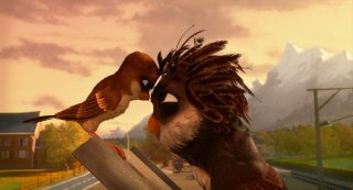 Richard the Stork: un'immagine tratta dal film d'animazione