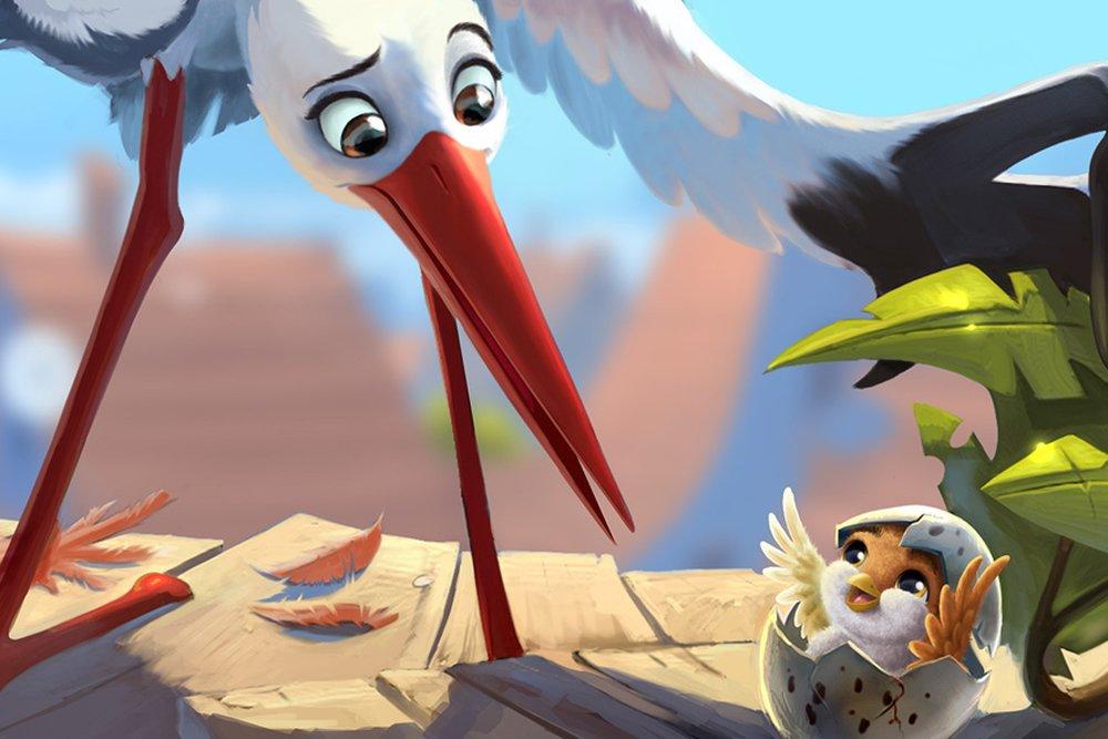 Richard the Stork: un momento del film animato