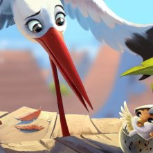 Richard the Stork: un momento del film animato
