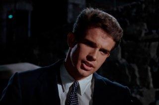 Splendore nell'erba: Warren Beatty in un momento del film