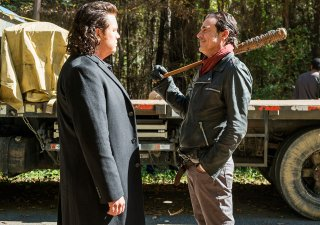 The Walking Dead: Josh McDermitt e Jeffrey Dean Morgan in The First Day of the Rest of Your Life