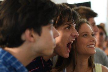 The Startup - Accendi il tuo futuro: Andrea Arcangeli e Paola Calliari in una scena del film