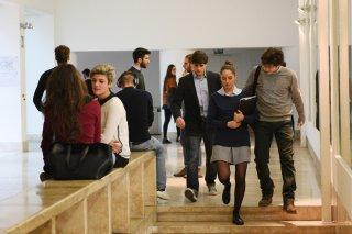 The Startup - Accendi il tuo futuro: Matteo Vignati, Matilde Gioli e Andrea Arcangeli in una scena del film