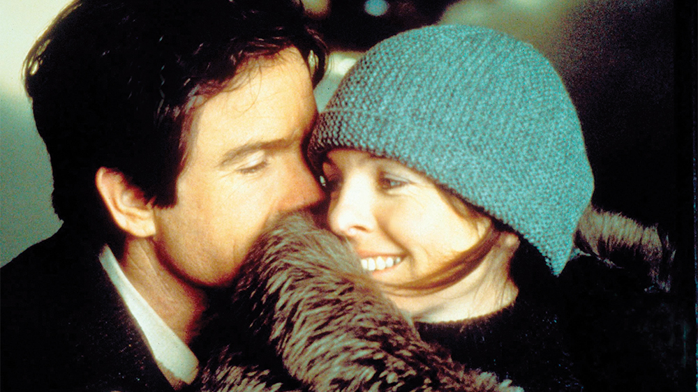 Reds: Warren Beatty e Diane Keaton in una scena del film
