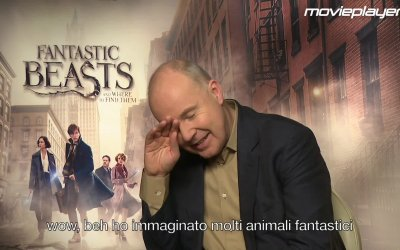 Animali fantastici e dove trovarli: Video intervista a David Yates