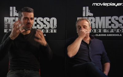 Il permesso - 48 ore fuori: Video intervista a Claudio Amendola e Luca Argentero