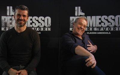 """Claudio Amendola dirige Luca Argentero in Il permesso: """"Siamo il bello e il nonno"""""""