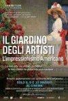 Locandina di Il giardino degli artisti. L'impressionismo americano