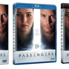 Le cover homevideo di Passengers