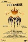 Locandina di Teatro dell'Opera di Firenze: Don Carlos