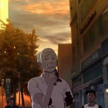 Seoul Station: una scena del film d'animazione