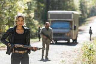The Walking Dead: una scena del finale della settima stagione
