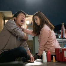 Luck-Key: Yu Hae-jin e Yun-hie Jo in un divertente momento