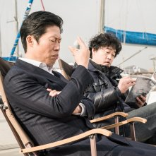 Luck-Key: Yu Hae-jin in una scena del film